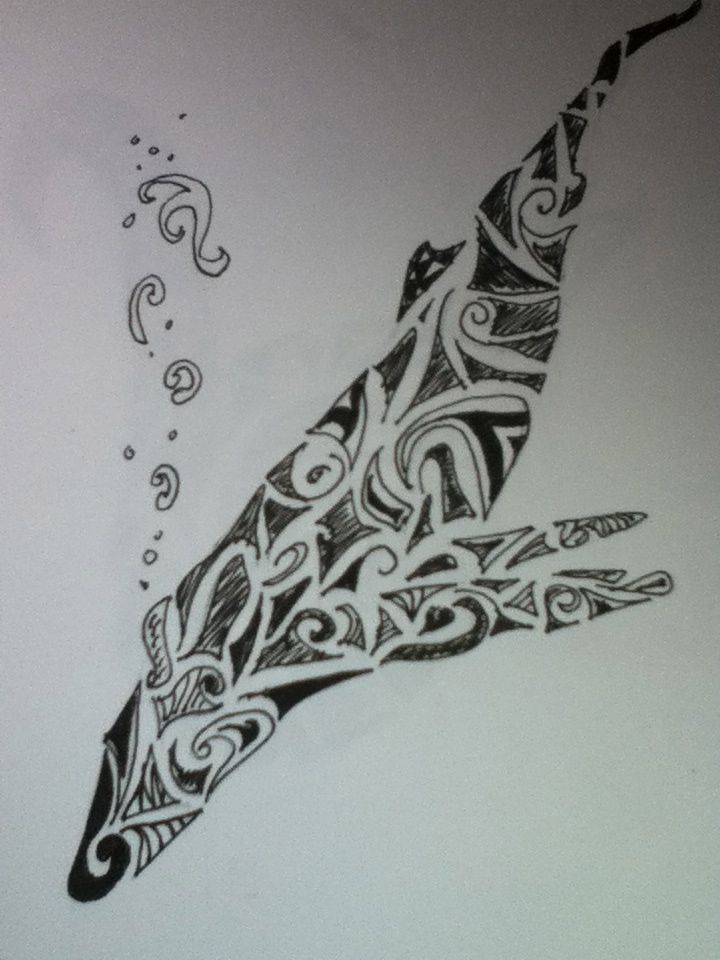 7a3b1c234 Humpback whale tribal art by Moray-orca on DeviantArt | Tattoo Me ...