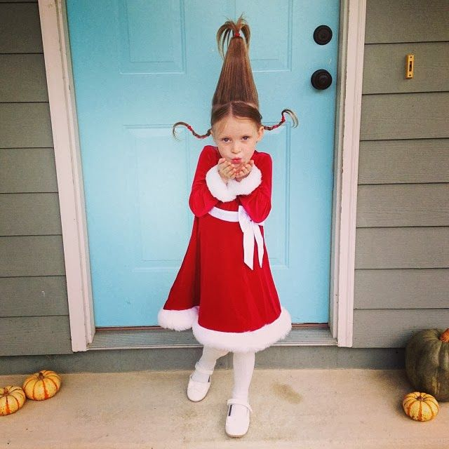 Supermom Vs Me Halloween Diy Costume Cindy Lou Who From