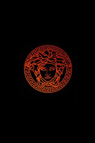 Versace Logo iPhone Wallpaper Download Обои для iphone