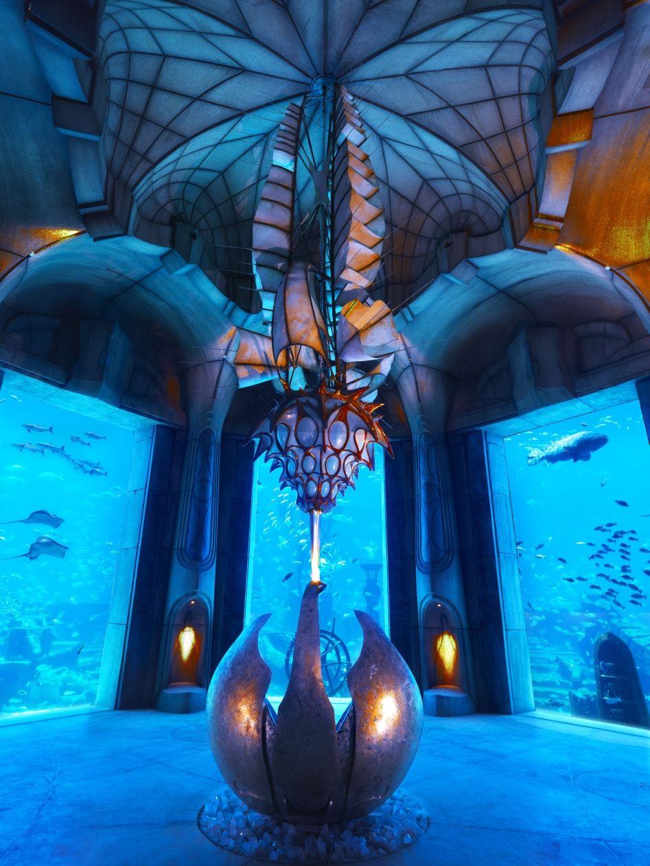 atlantis dubai aquarium
