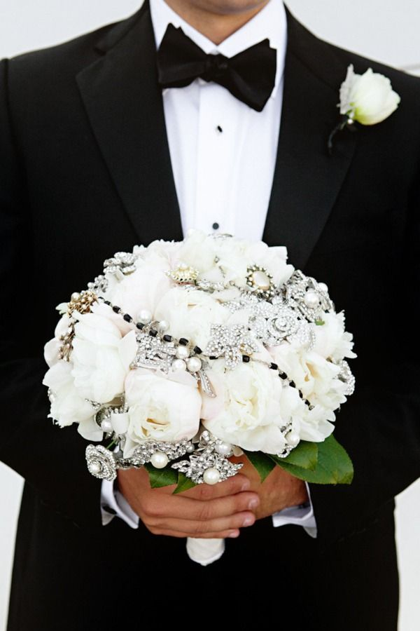 Perfect for a black and white wedding
