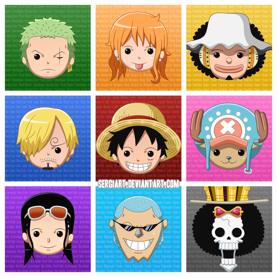 One Piece The Nine Colours By Sergiart On Deviantart One Piece Drawing One Piece Anime One Piece Fanart