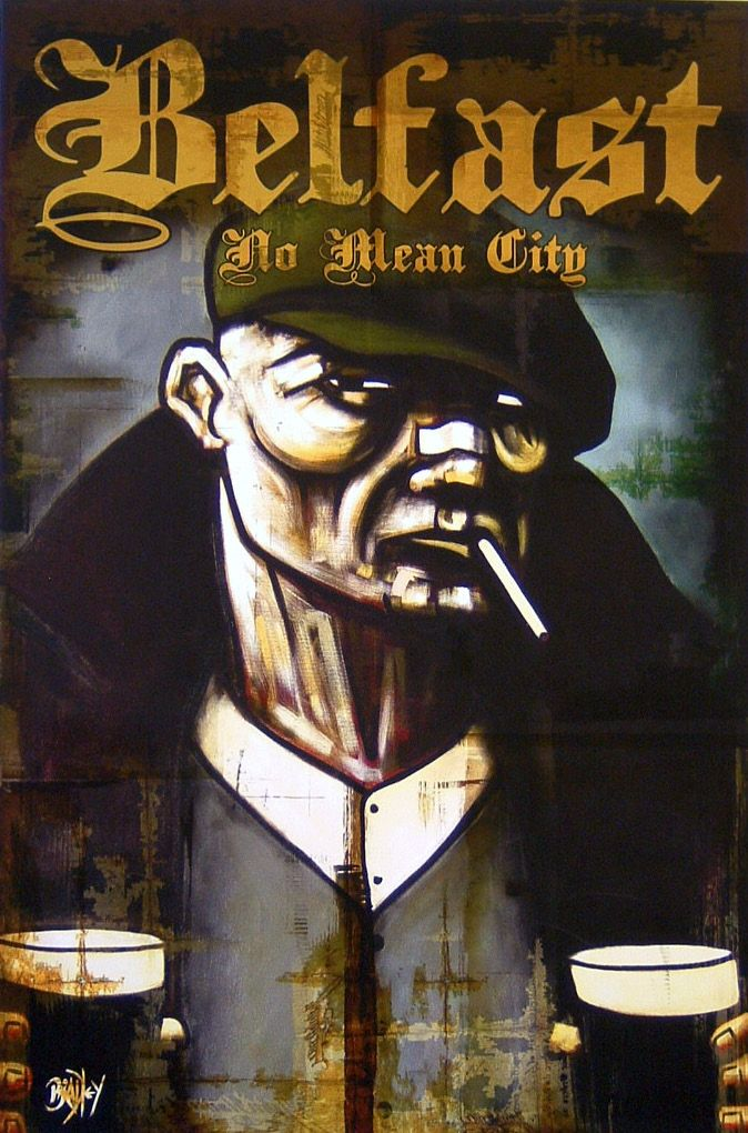Terry Bradley (With images) Irish art, Hippie art, City