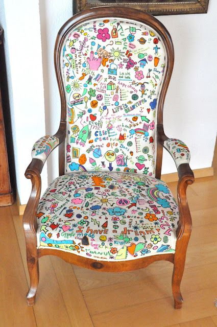 fauteuil relook chairs pinterest relooker fauteuils et vieux meubles. Black Bedroom Furniture Sets. Home Design Ideas