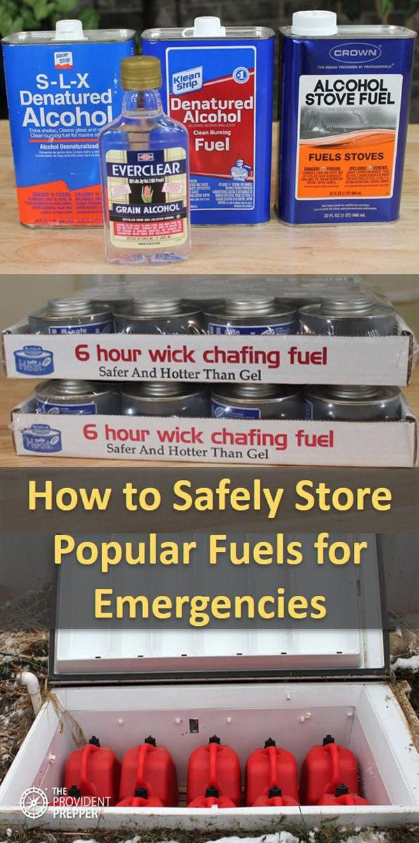 """Where is the safest place to store gasoline (or diesel or kerosene or Coleman fuel or butane or propane or alcohol) for an emergency? The answer is ... it depends. The answer varies by individual fuel and living circumstances. If you live on a 10 acre farm you have significantly more options than if you live in a one bedroom apartment. The problem is that fuel is critical for survival for everyone. You need it to boil water, cook your food and to keep fr #survivalcooking #hurricanefoodideas"
