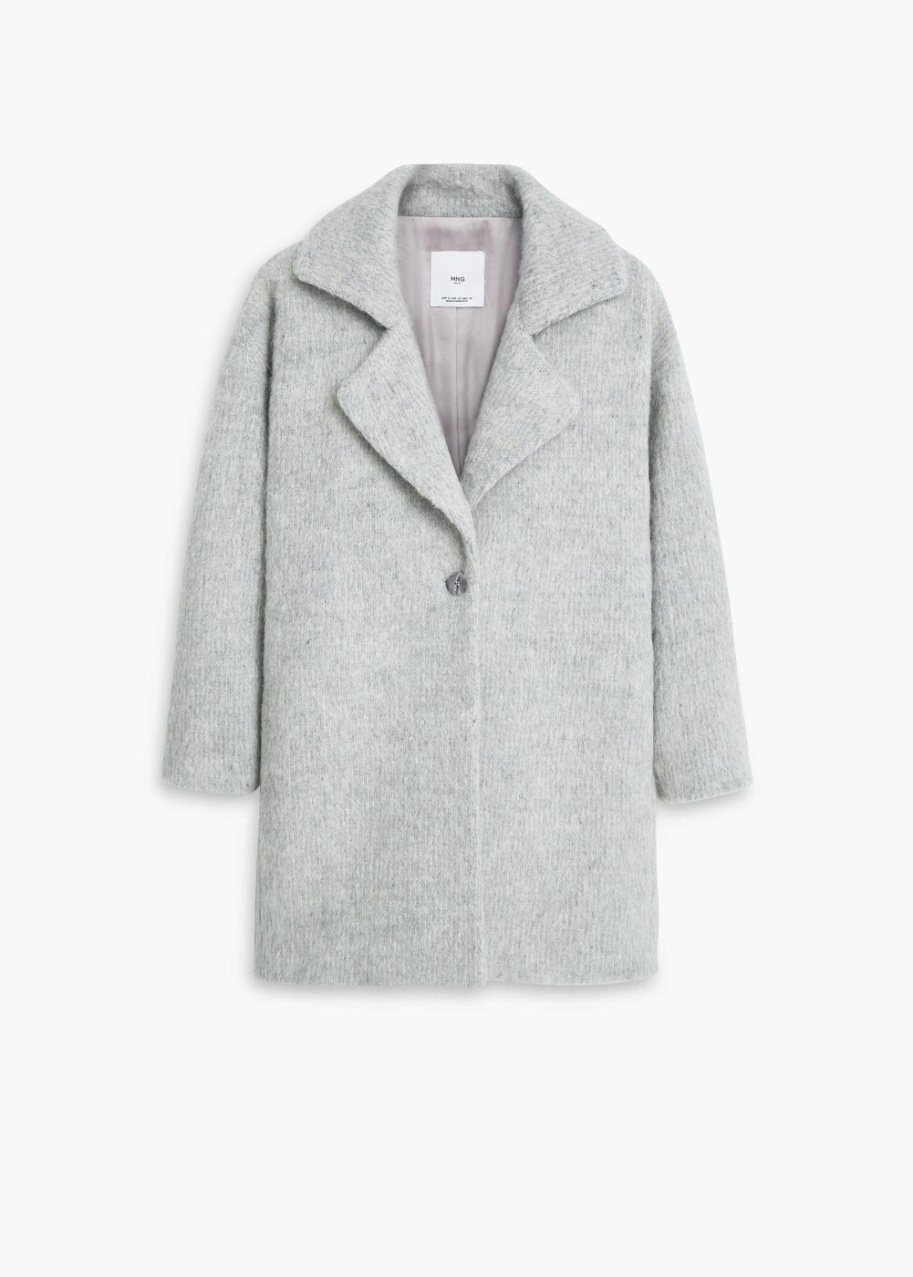 Abrigo lana solapas