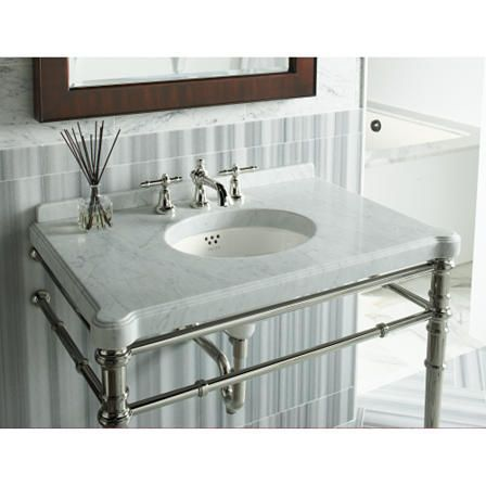Lav Sink With Chrome Legs