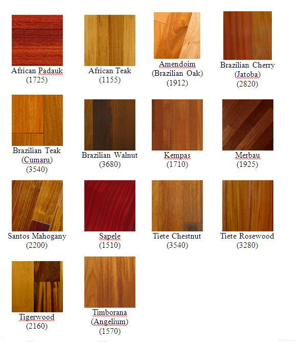 Naturally Occuring Red Colored Woods Paduak Brazilian Cherry Jatoba Sapele Sapele Brazilian Cherry Wood