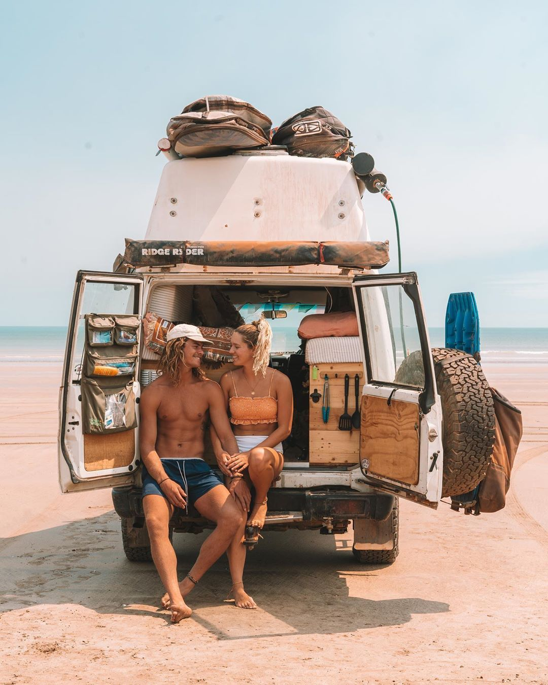 "Photo of Jade | Australia | Troopy on Instagram: ""Travelling Australia with you was the best decision we have ever made 🧡 So thankful to have you @jake.applebee"""