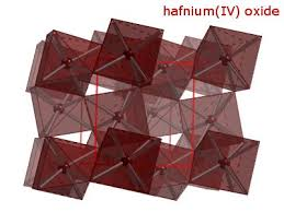 Advanced Materials A New Hafnium Oxide With A Higher Dielectric Constant Pure Products Semiconductor Electric Field