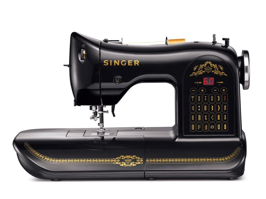 The Singer 160th anniversary, limited edition, sewing machine; my kind of machine.