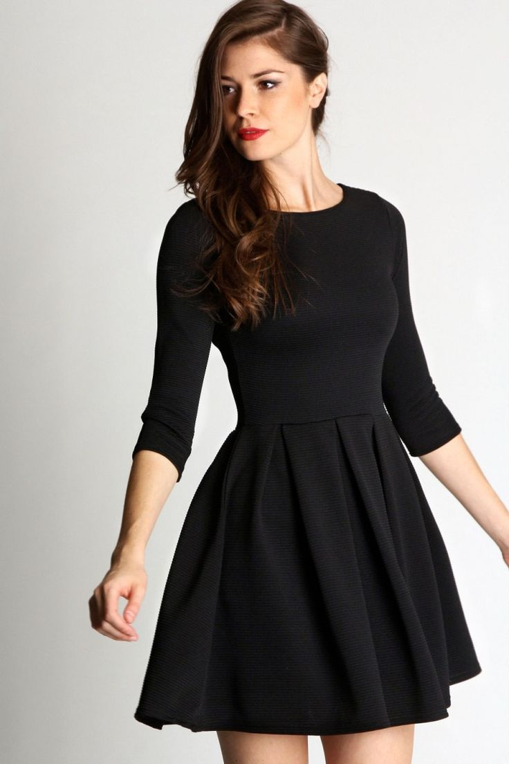 Sleeve Long black dresses for juniors pictures forecast dress for autumn in 2019