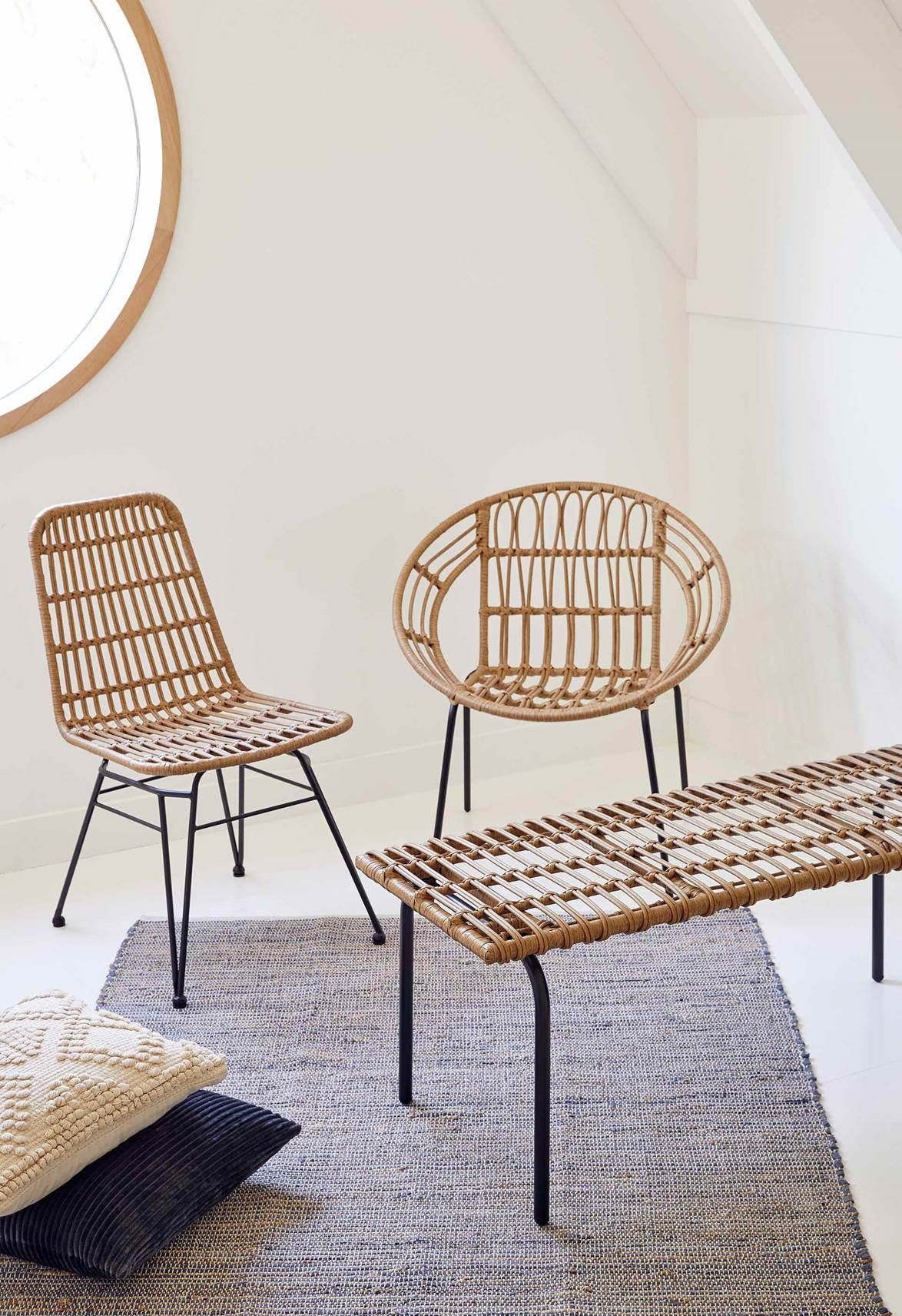 Woven Dining Chair 79 Willa Woven Chair 49 Woven Bench 79 Target Austra Woven Dining Chai Rattan Dining Chairs Dining Chairs Woven Dining Chairs