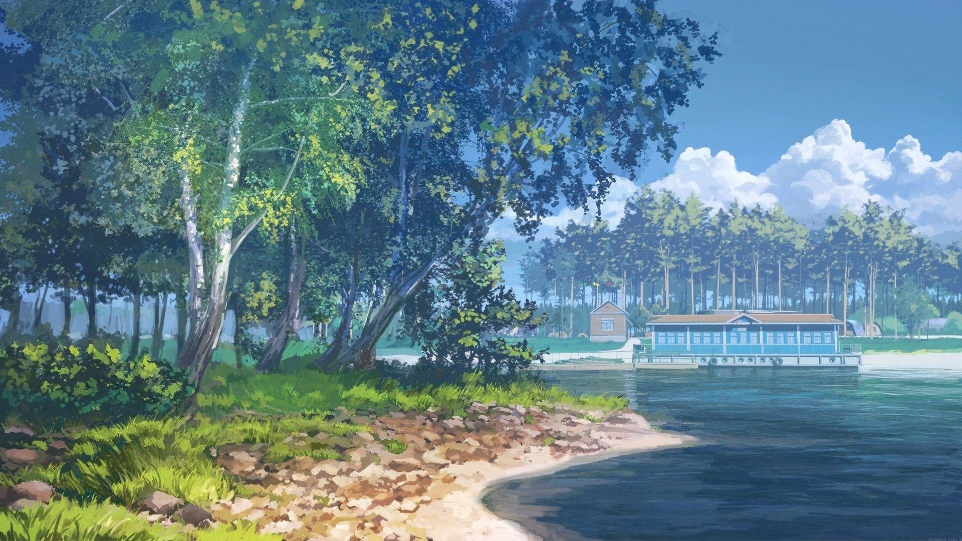 Download Wallpaper Desktop Anime Hd Di 2020