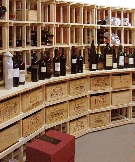 Casiers à bouteille, casier vin, rangement du vin, aménagement cave, casier bois | Casier a ...
