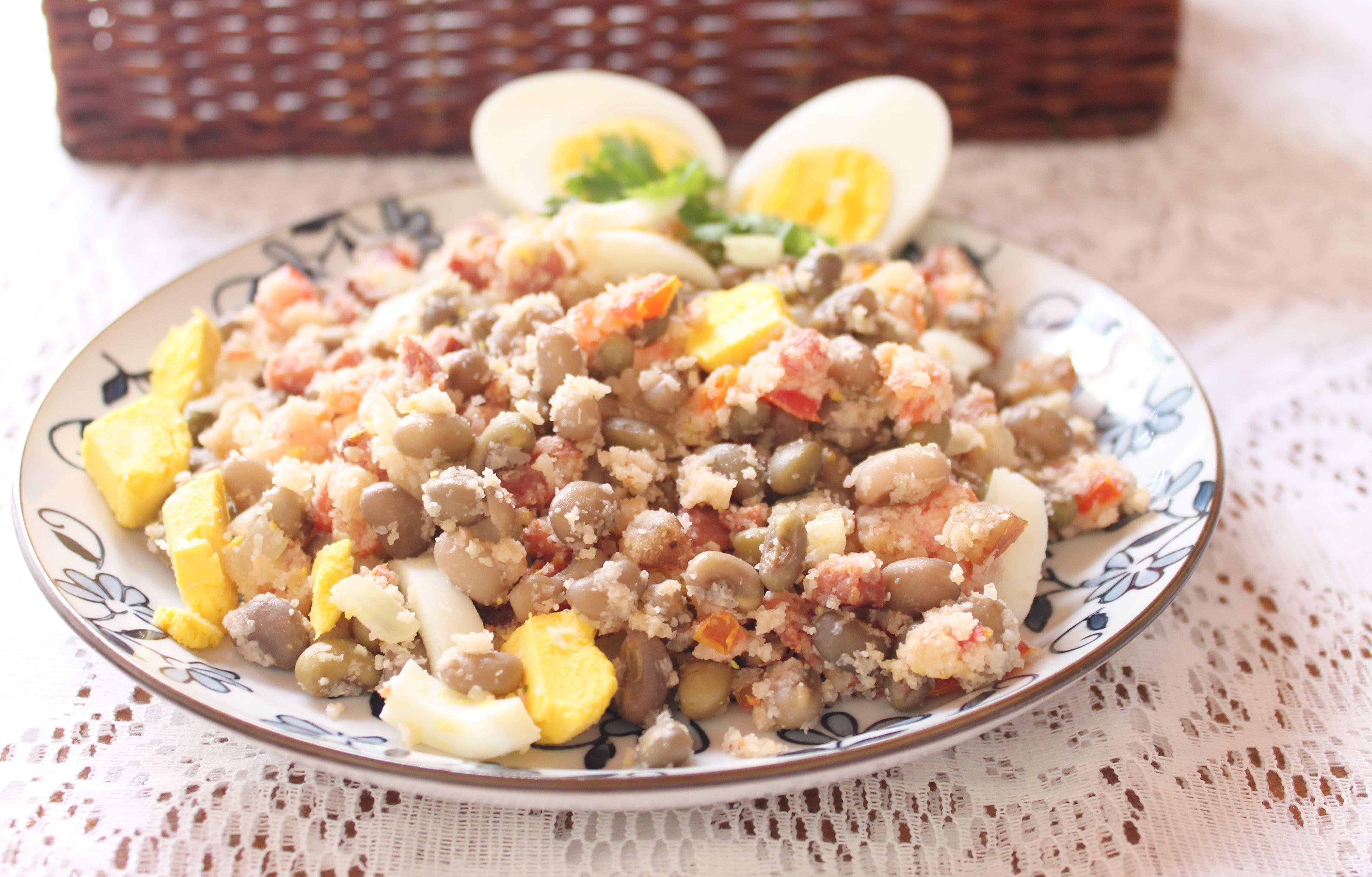 Feijão-tropeiro produzido com feijão-caupi