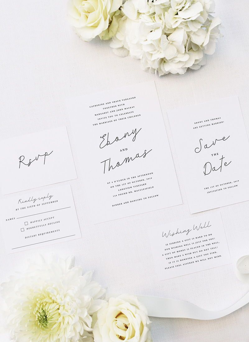 hand writing cursive script wedding invitations  how to
