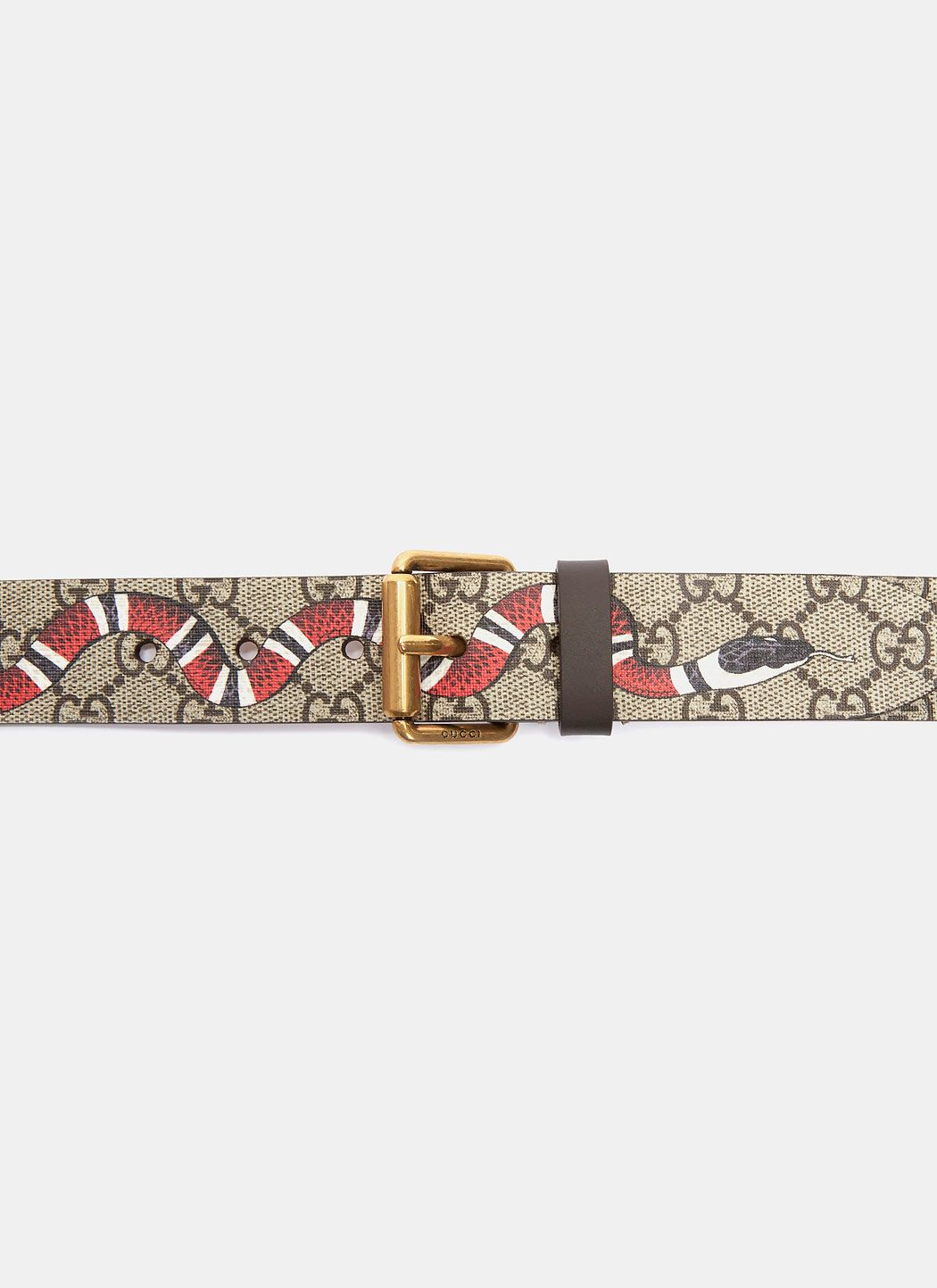 9fe9e789d GUCCI Men'S Gg Snake Leather Belt In Brown. #gucci # | Gucci Men in ...