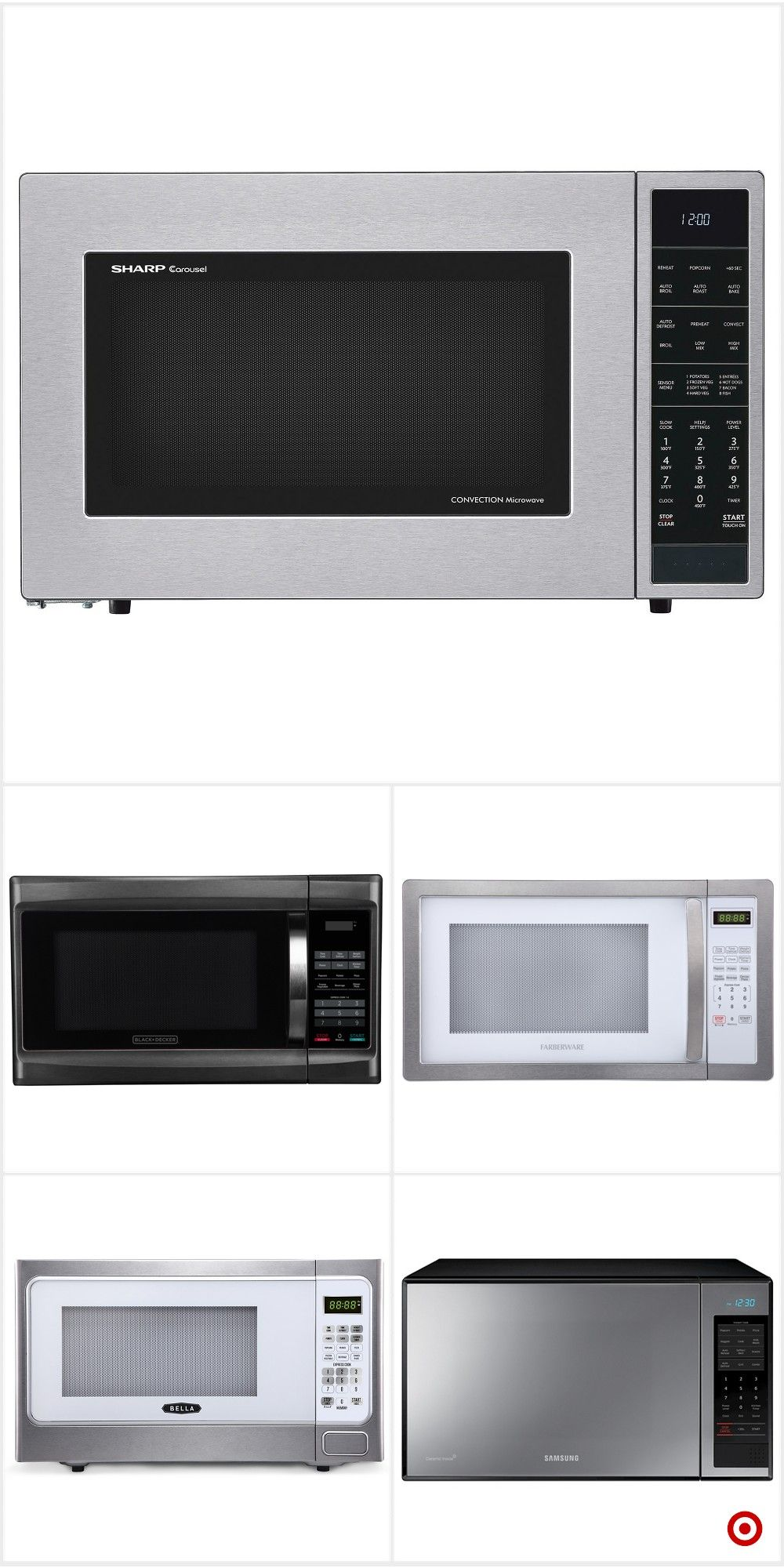 Shop Target For Microwave Ovens You Will Love At Great Low Prices Free Shipping On Orders Of 35 Or Free Same Day Pick Microwave Ovens Microwave Shop Target