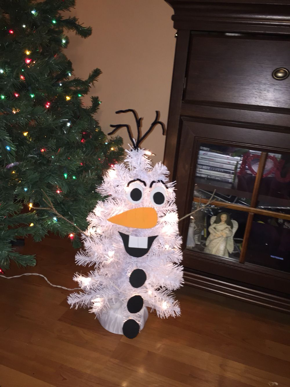 Olaf Christmas tree! | Disney | Pinterest | Olaf, Christmas tree and ...