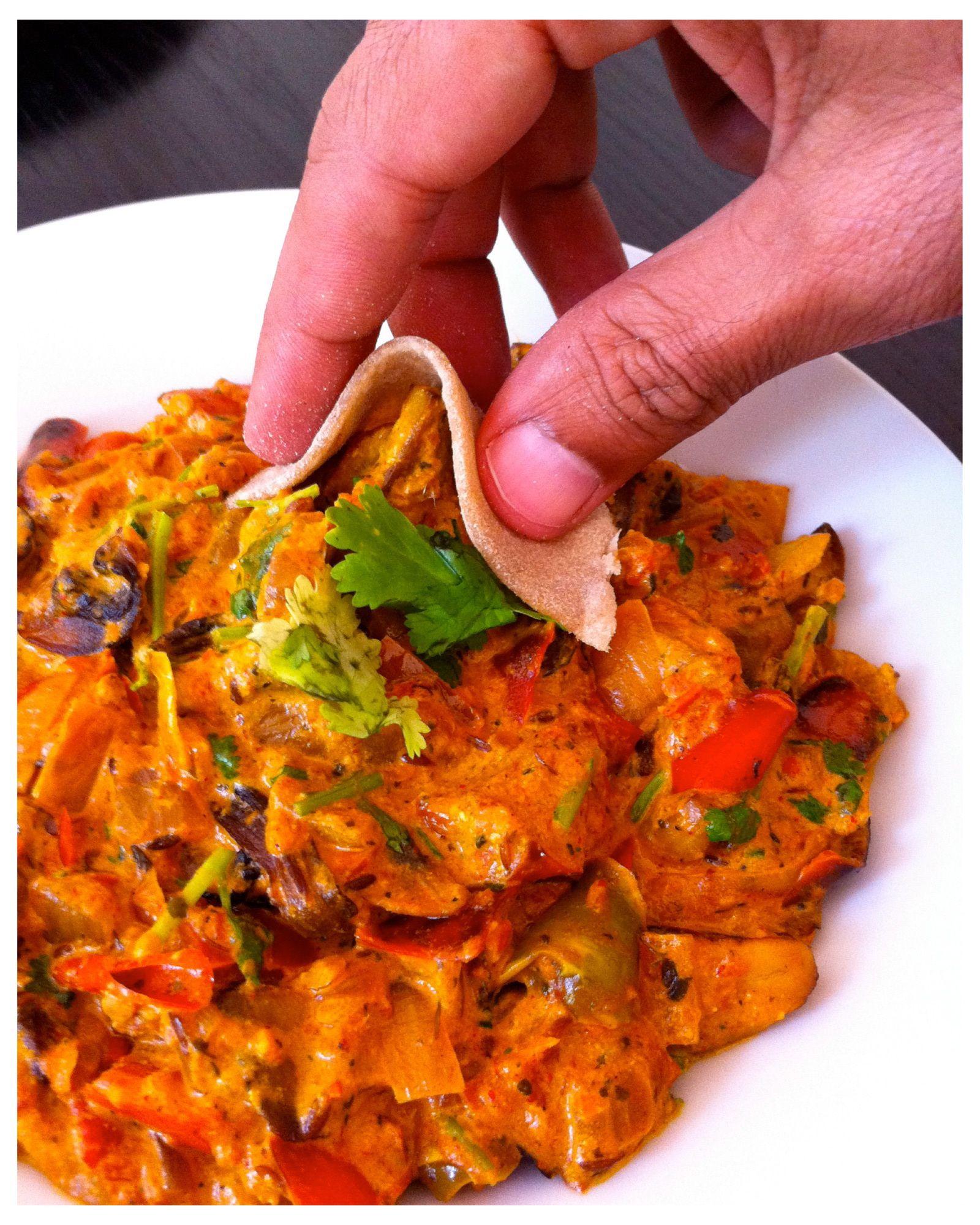 Mushroom Tikka Masala For The Sauce 3 Toil 2 T Jeera 2 Onion