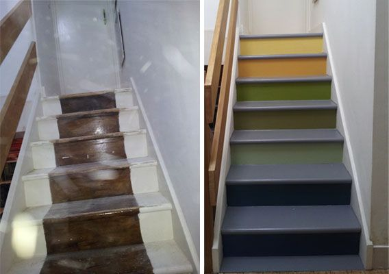 Your Home Is Lovely Interiors On A Budget Painting The Stairs