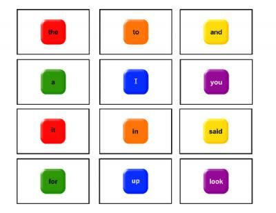 Sight Word Candy Land - Pre Primer from Ironic Adventures on ...