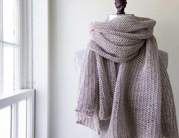 Open Air Wrap In Linen Quill Purl Soho Arts And Crafts