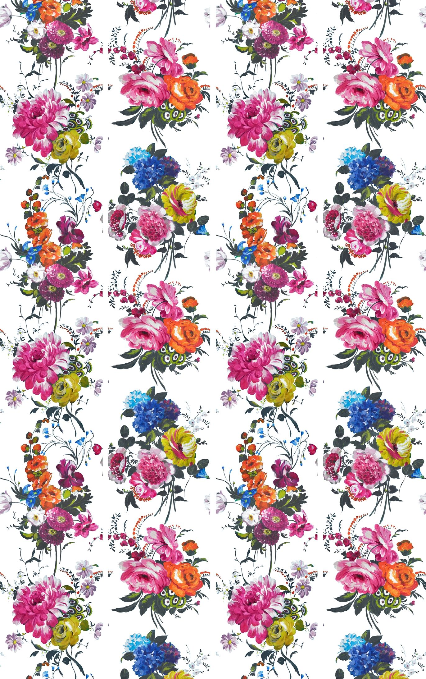 Florals Galore » Floral peony fabric from Amrapali Peony