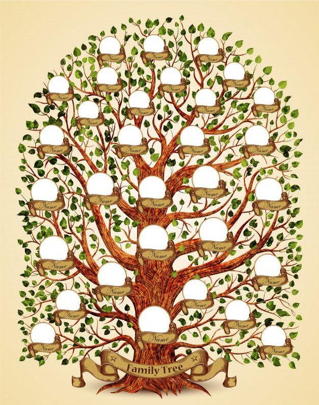 fancy family tree template