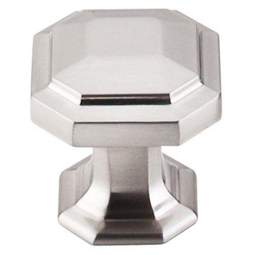 top knobs tk286 chareau series 1 1 8 inch diameter octagonal
