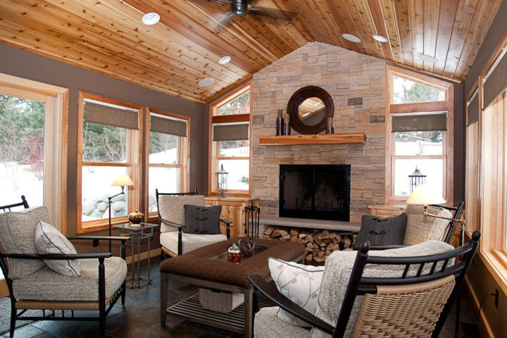 Inspirational Four Season Porch Ideas Home Additions House With