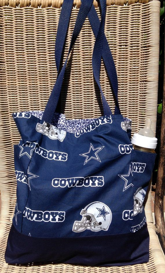 Dallas Cowboys Diaper Bag Custom Tote By Designsbyfancyrose