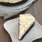 Chocolate Chip Cheesecake with Brownie Crust   -- YUMMY will make again!