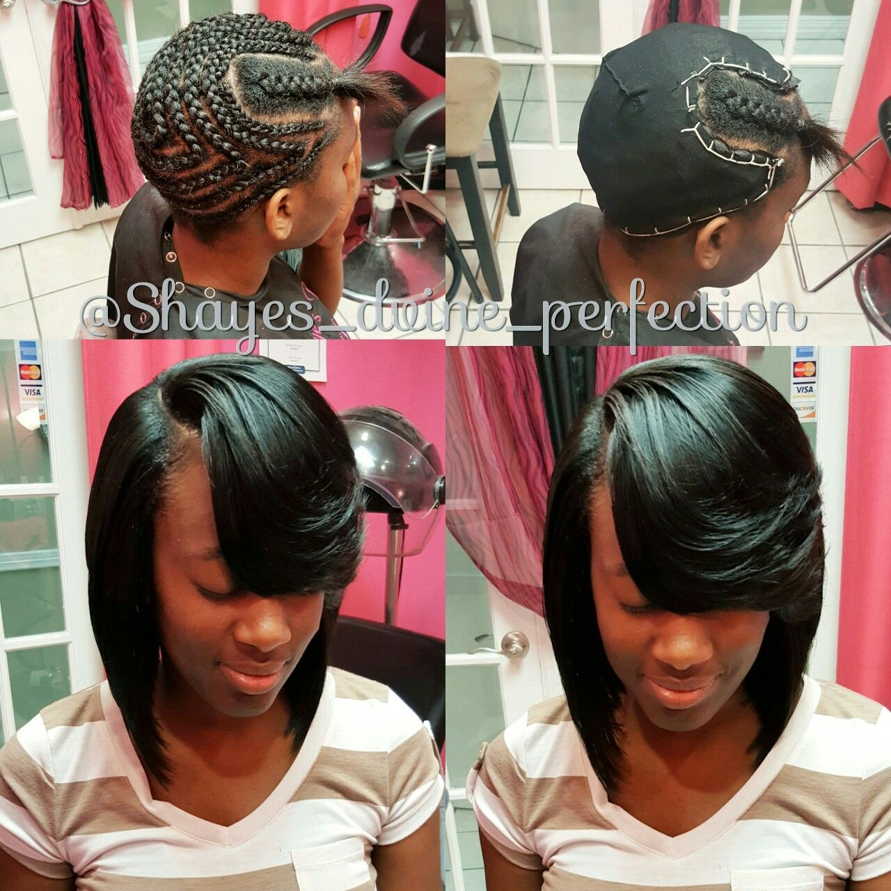 Pronto Quick Weave Bob Text 817 714 8362 To Book Include