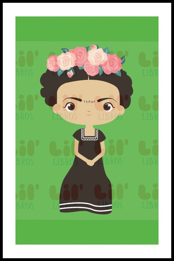 Frida Kahlo Themed Prints For Nursery Baby Shower Or By LilLibros