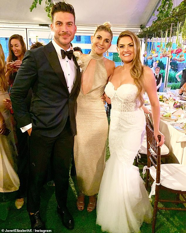Jax Taylor And Brittany Cartwright Marry In Star Studded Ceremony Celebrity Wedding Photos Wedding Dresses Wedding