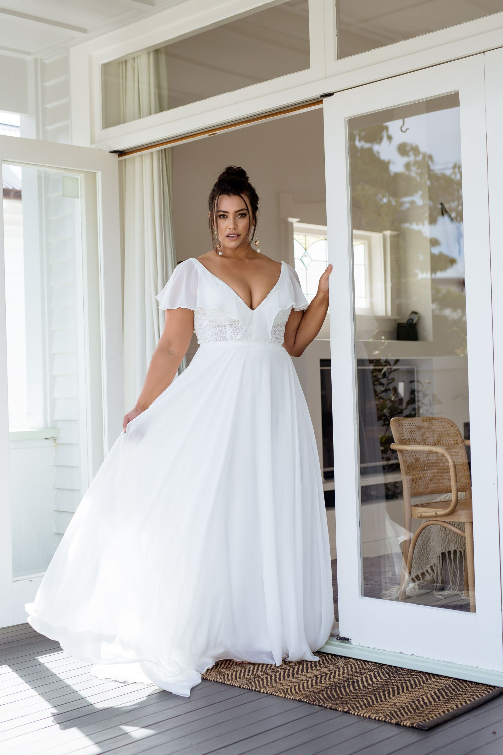 Ayana Dress Curve Collection Plus Wedding Dresses Summer Wedding Dress Wedding Dresses Nz