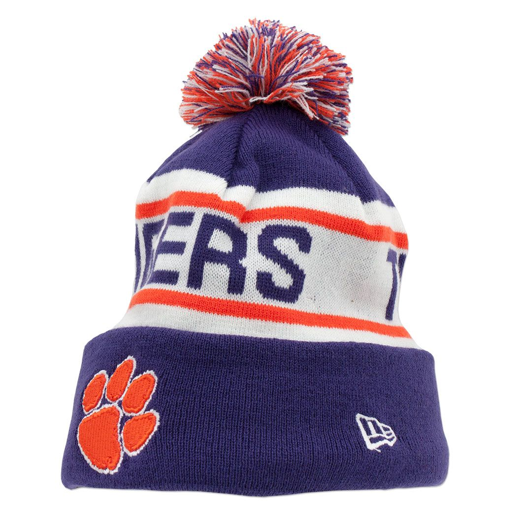 Clemson  Tigers  NewEar  Winter  Hat  Beanie  aa87c385e17