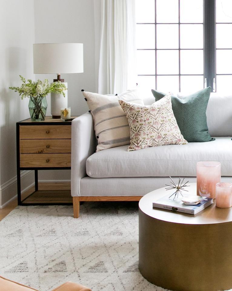 Harper - Pink  Green / 12 in 2018 Real - Living Room Pinterest