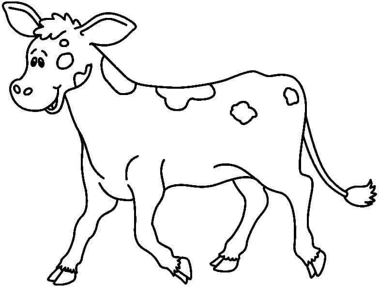 Pin By Milica Mitrovic On Animals Cow Coloring Pages Drawing For Kids Coloring Pages