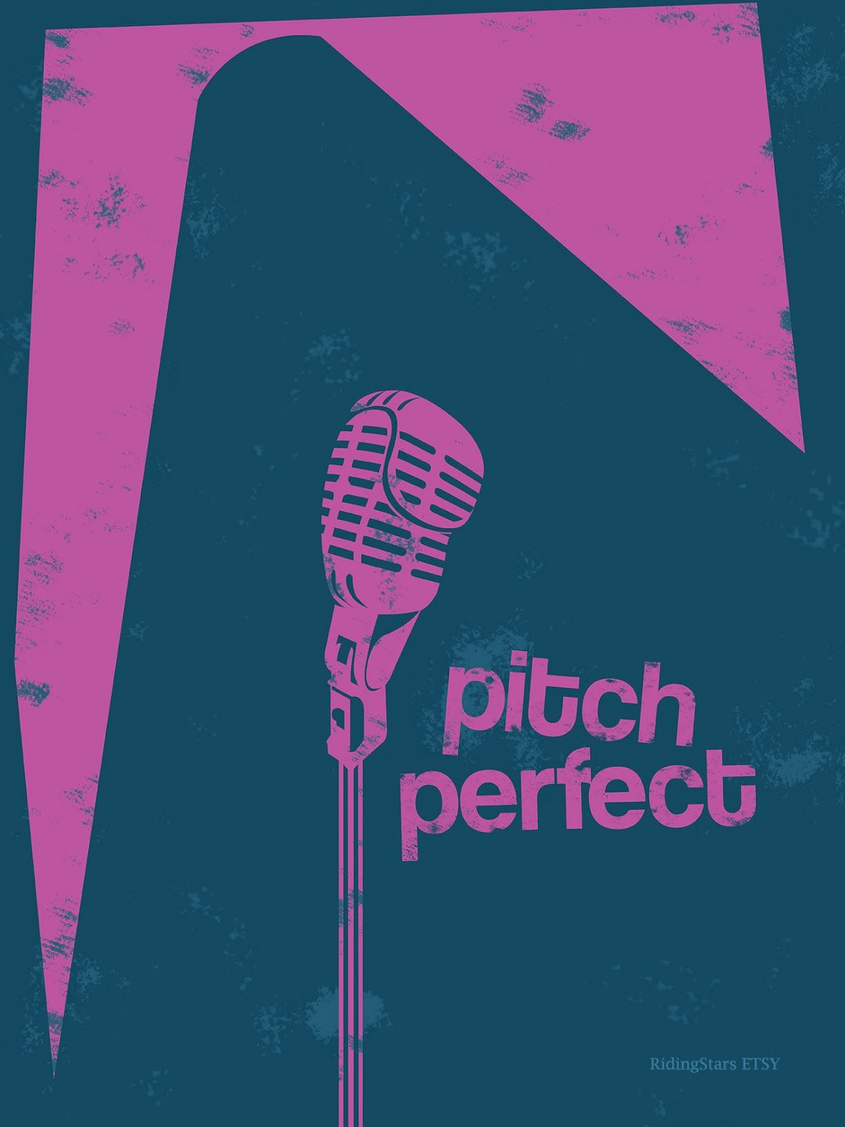 Pitch Perfect (2012) ~ Minimal Movie Poster   Film posters ...   Pitch Perfect 2012 Movie Poster