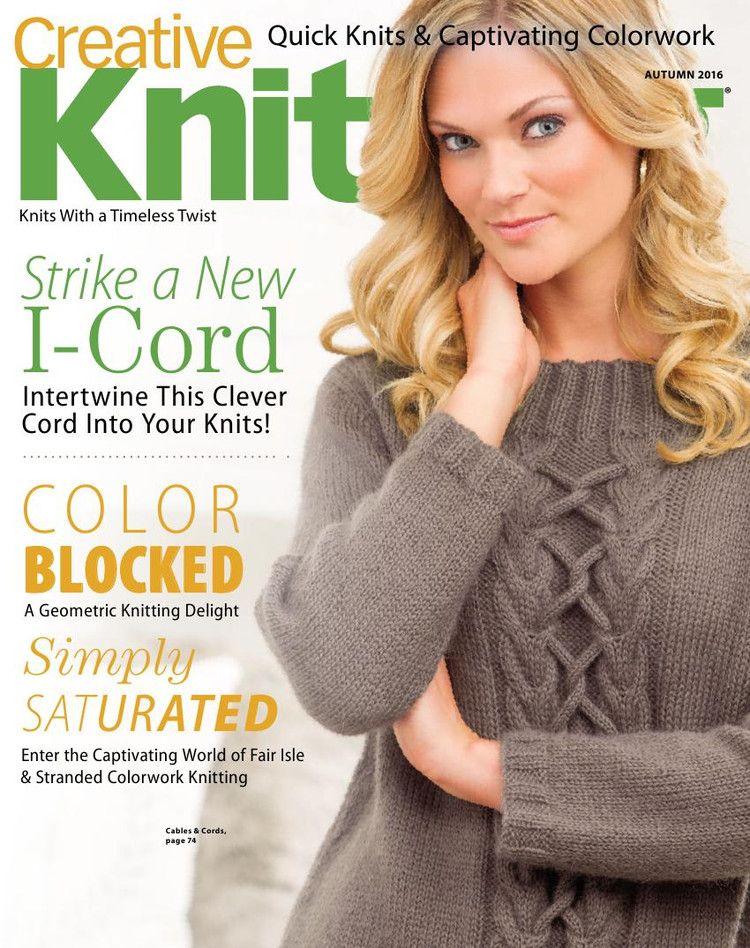 Creative Knitting №3 2016 - 轻描淡写 - 轻描淡写 | magazines knit and ...