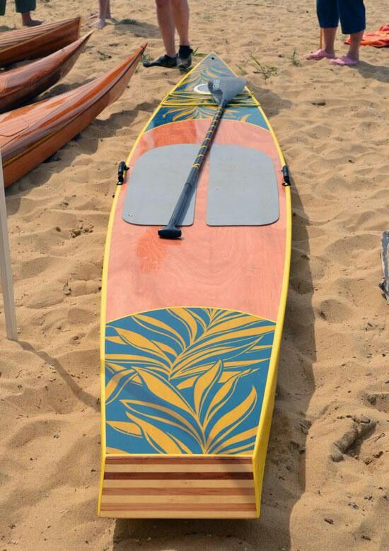 Very Cool Paddleboard Small Boats Wooden Boat Building
