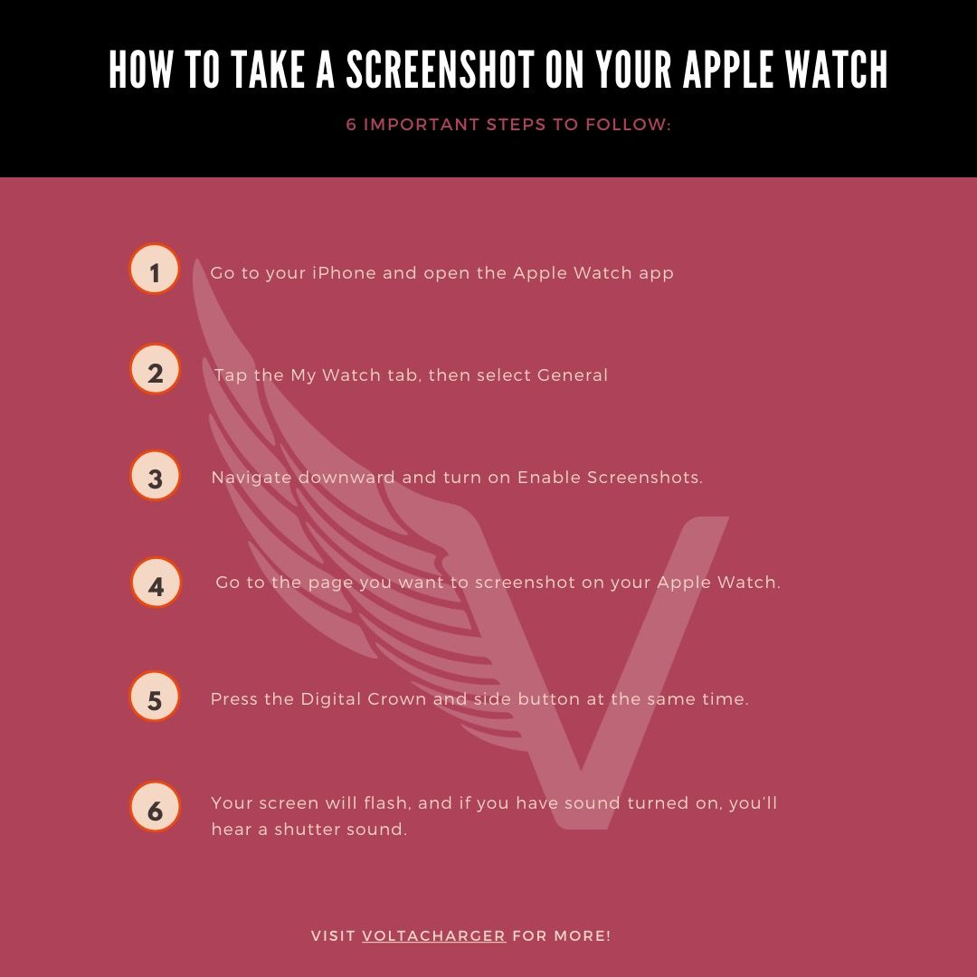 How to take a screenshot on your apple watch and find it