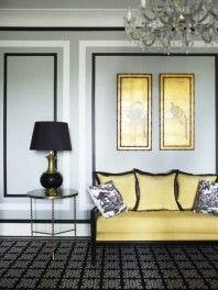 Best Lemon Yellow Silver Grey And Black Living Room Grey 400 x 300