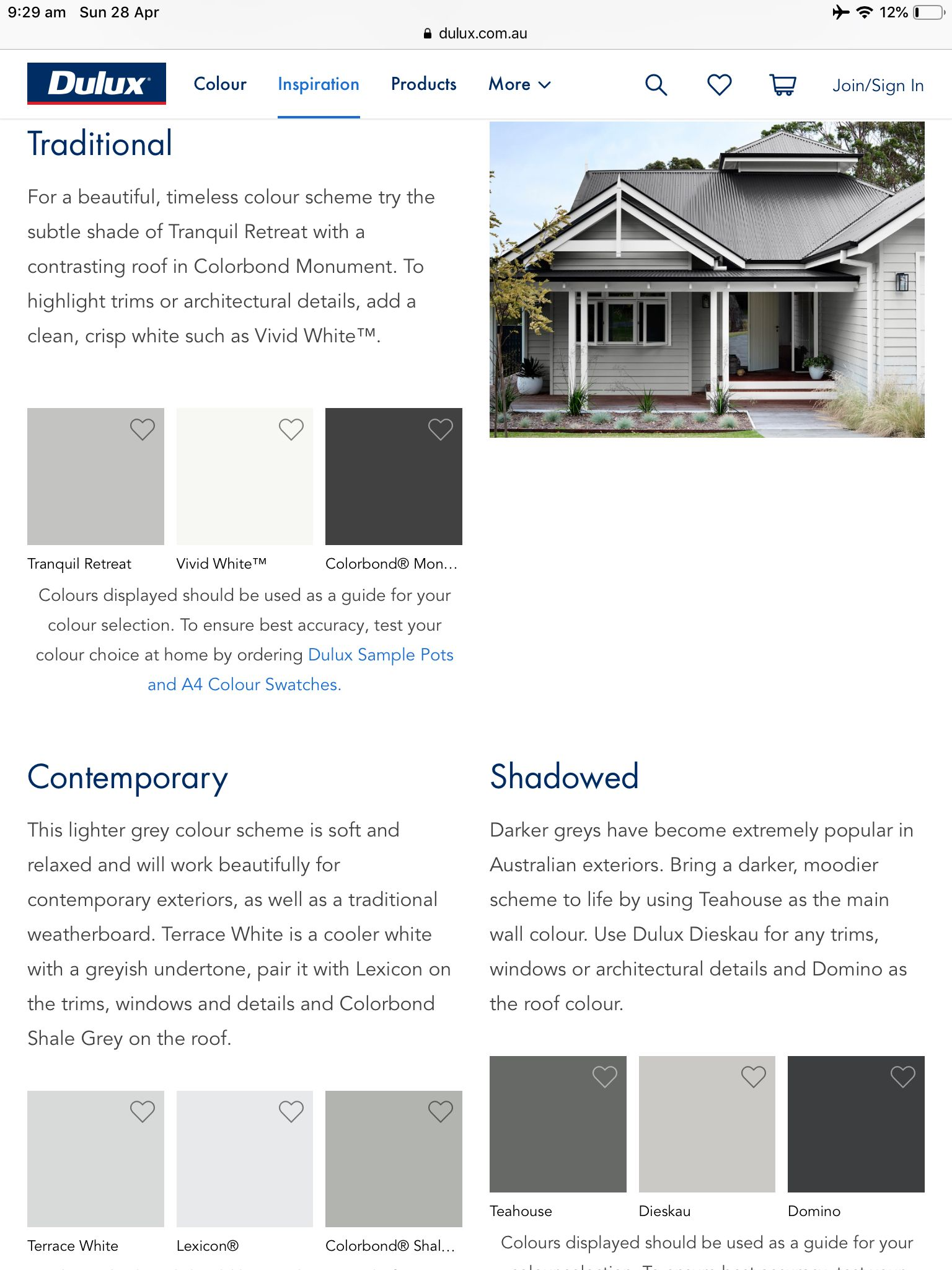 Pin By Desre Ferreira On Exterior Exterior Color Schemes Grey Exterior Dulux Colour