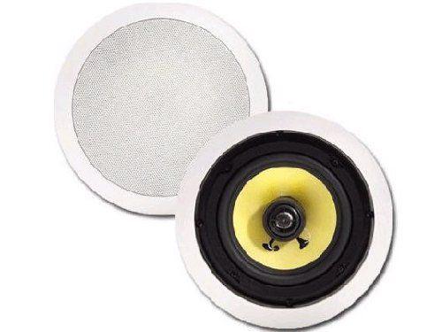 Pinnacle Speakers K 6 6 5 Inch Round Coaxial 2 Way In