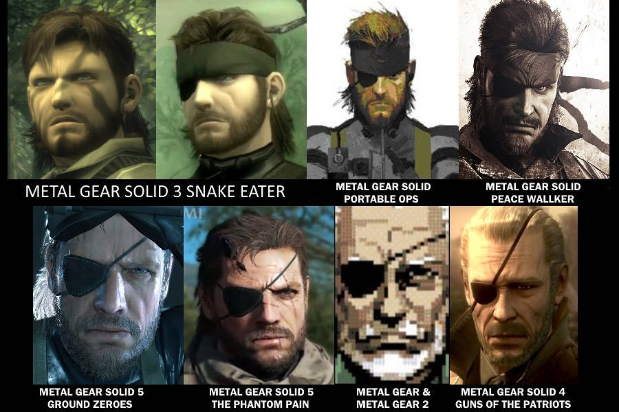 Big Boss Timeline Metal Gear Solid Metal Gear Big Boss
