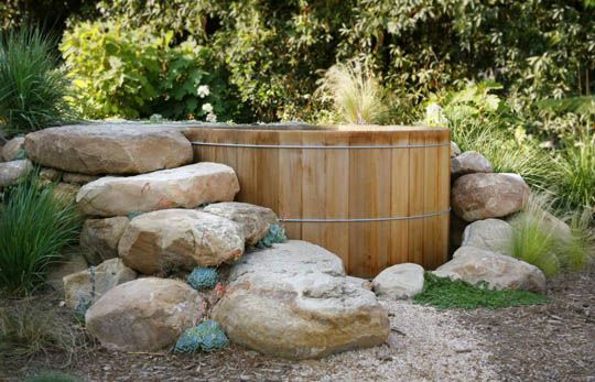 hot tub this is what i want garten saison pinterest garten baden und terrasse. Black Bedroom Furniture Sets. Home Design Ideas